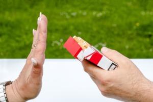まだタバコを吸いますか?